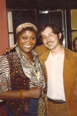 Frank Christian and Odetta